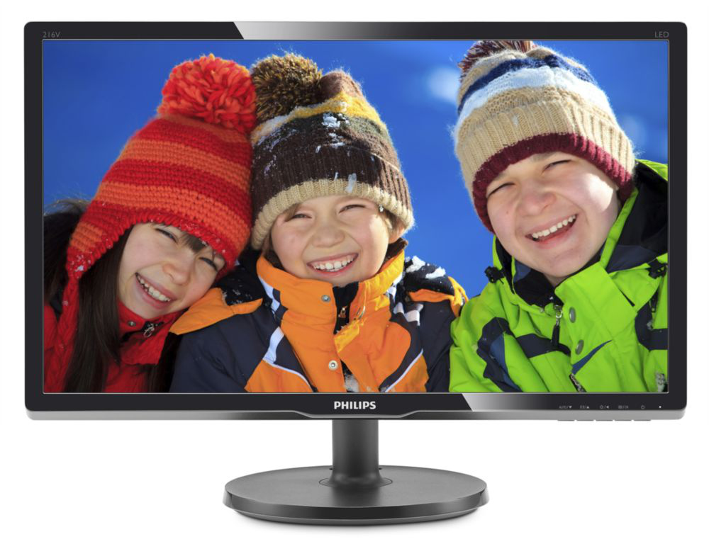 LCD Monitor 20.7'' Philips 216V6LSB2 VGA